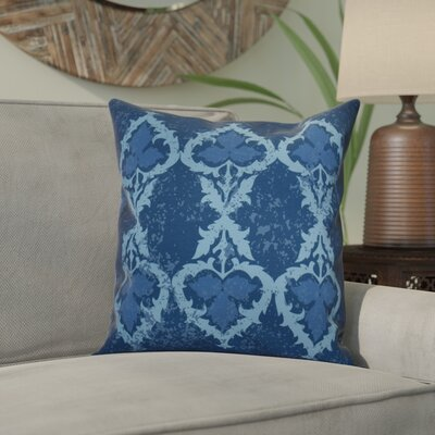 Soluri Geometric Throw Pillow Size: 20 H x 20 W x 2 D, Color: Navy Blue