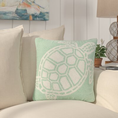 Redwood Turtle Indoor/Outdoor Throw Pillow Color: Green