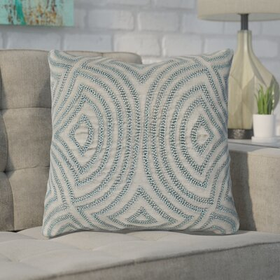 Taylor Linen Throw Pillow Size: 18 H x 18 W x 4 D, Color: Slate, Filler: Polyester
