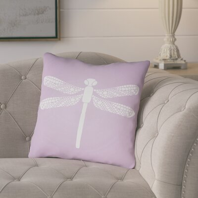 Perez Indoor/Outdoor Throw Pillow Size: 18 H x 18 W x 3.5 D, Color: Purple