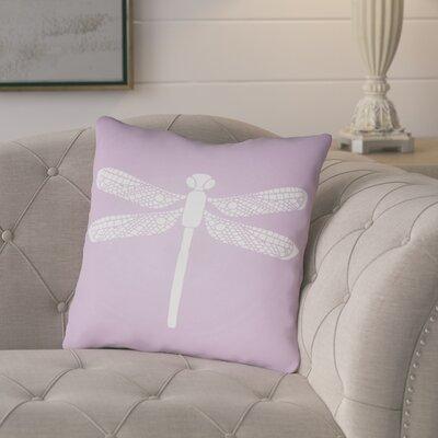Perez Indoor/Outdoor Throw Pillow Size: 20 H x 20 W x 3.5 D, Color: Purple
