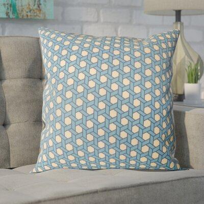 Madyson Outdoor Throw Pillow Color: Blue
