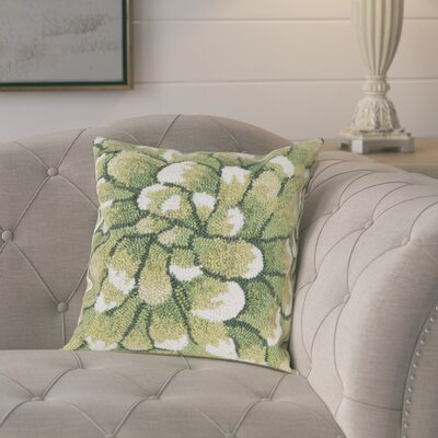 Calderon Mum Indoor/Outdoor Throw Pillow Color: Green