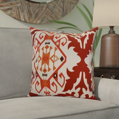 Soluri 6 Geometric Throw Pillow Size: 20 H x 20 W x 2 D, Color: Orange / Rust