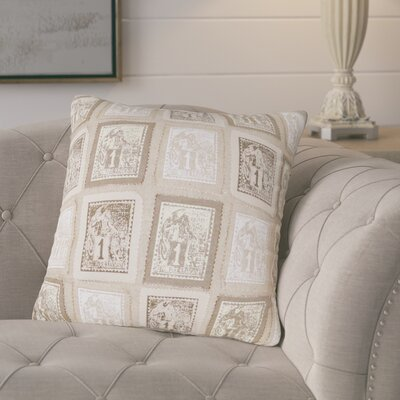 Mila Cotton Throw Pillow