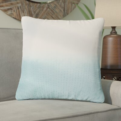 Jermaine Tribal Pattern Cotton Throw Pillow Color: Light Blue, Size: 14 x 20