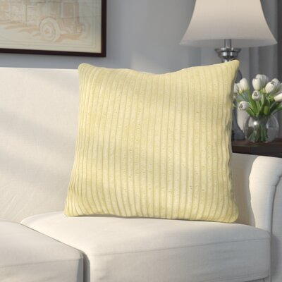 Bluff Throw Pillow Color: Willow