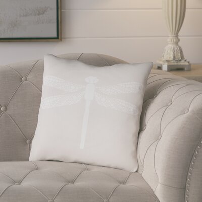 Perez Indoor/Outdoor Throw Pillow Size: 18 H x 18 W x 3.5 D, Color: Tan