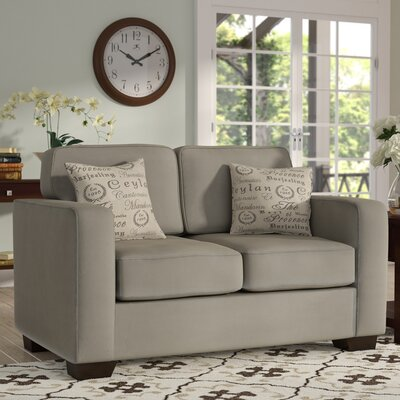 Deerpark Loveseat Upholstery: Light Khaki