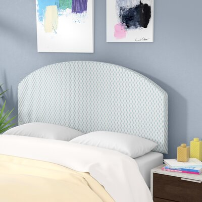 Engle Cotton Upholstered Panel Headboard Size: Queen