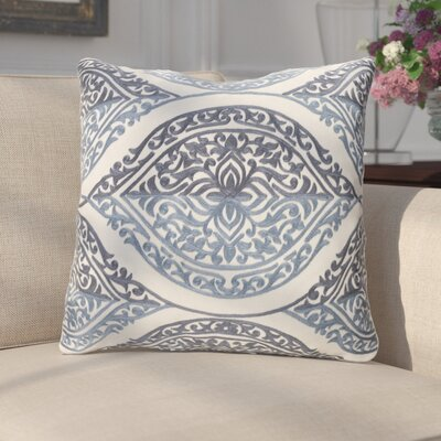 Parish Throw Pillow Color: Blue