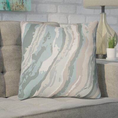 Konnor Throw Pillow Size: 22 H �x 22 W x 5 D, Color: Blue