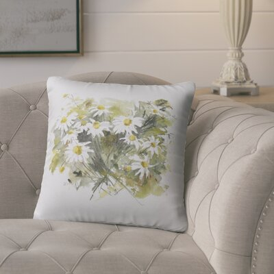 Bossier Outdoor Floral Throw Pillow