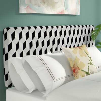 Pascoe Linen Upholstered Panel Headboard Size: California King