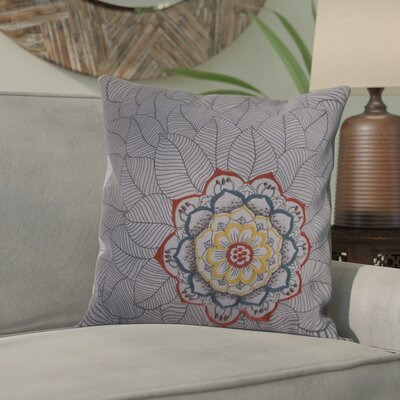Scaife Cotton Throw Pillow Color: Gray