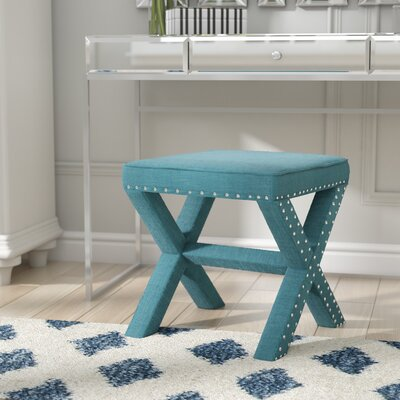 Hawking Ottoman Finish: Teal