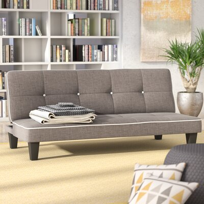 Raskin Convertible Sofa Upholstery: Gray