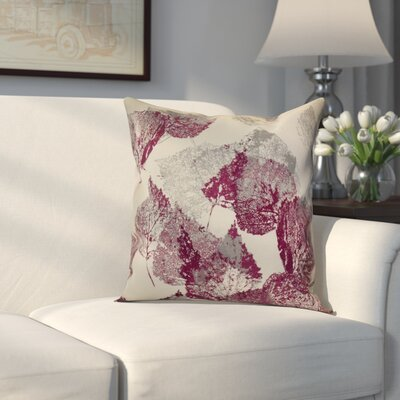 Miller Memories Throw Pillow Size: 18 H x 18 W x 2 D, Color: Purple