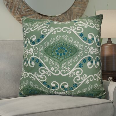 Soluri Illuminate Geometric Euro Pillow Color: Green