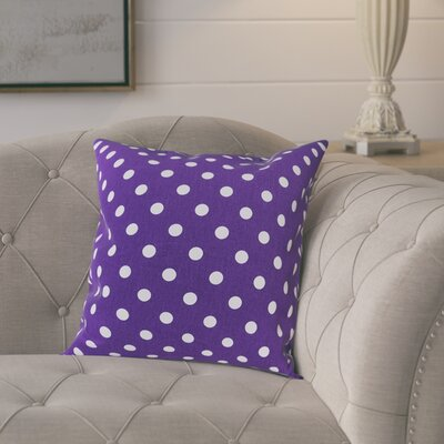 Rebeterano Cotton Pillow Cover Color: Purple