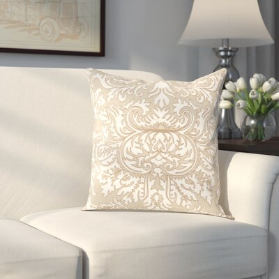 AuCoin Stitched Medallion Cotton Throw Pillow