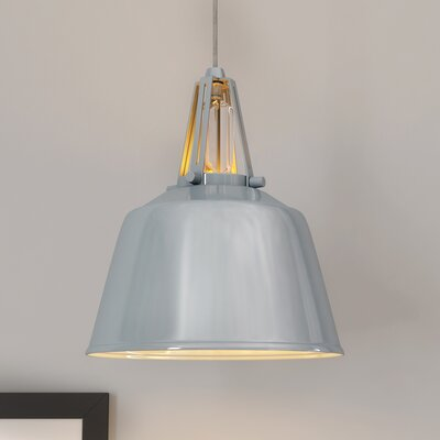 Sarah 1-Light Mini Pendant Finish: Hi Gloss Grey