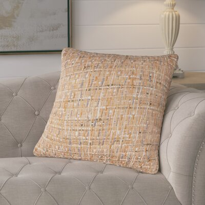 Chaudiere Cotton Pillow Color: Orange
