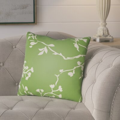 Teena Throw Pillow Size: 20 H x 20 W x 5 D, Color: Green
