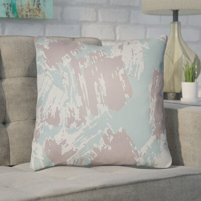 Konnor Throw Pillow Size: 18 H x 18 W x 4 D, Color: Light Blue