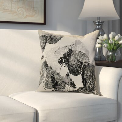 Miller Memories Throw Pillow Size: 16 H x 16 W x 2 D, Color: Black