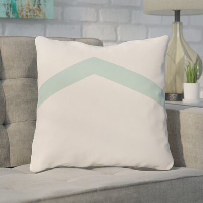 Down Throw Pillow Size: 26 H x 26 W, Color: Ocean