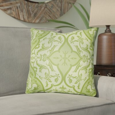 Libchava Floral Throw Pillow Size: 20 H x 20 W x 4 D, Color: Green