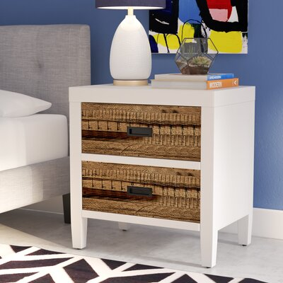 Bendigo 2 Drawer Nightstand