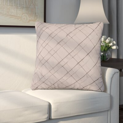 Howell Cotton Throw Pillow Color: Light Taupe