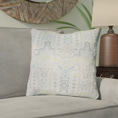 Libchava Square Throw Pillow Size: 22 H x 22 W x 5 D, Color: Mint