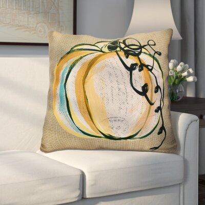 Miller Pumpkin Fest Geometric Euro Pillow Color: Taupe