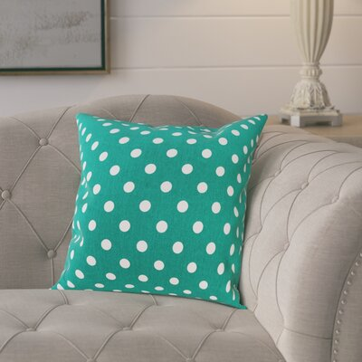 Rebeterano Cotton Pillow Cover Color: Teal