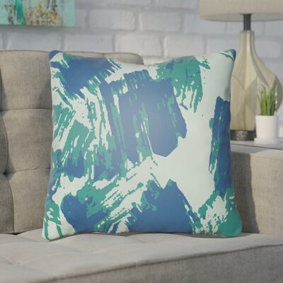Konnor Throw Pillow Size: 20 H x 20 W x 5 D, Color: Mint