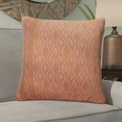 Melvin Cotton Throw Pillow Color: Aragon/Pebble