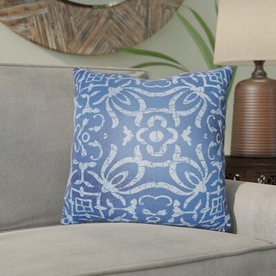 Libchava Indoor Throw Pillow Size: 20 H x 20 W x 4 D, Color: Indigo
