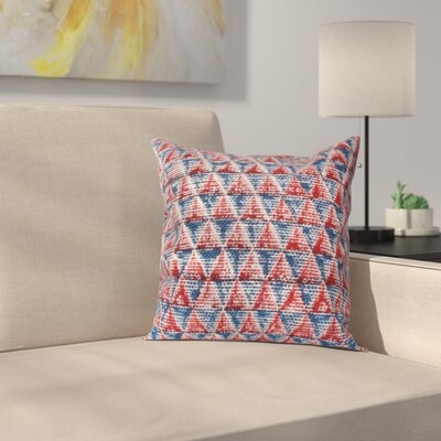 Rapoza Vadnais Threads with a Soul? Diam 100% Cotton Throw Pillow