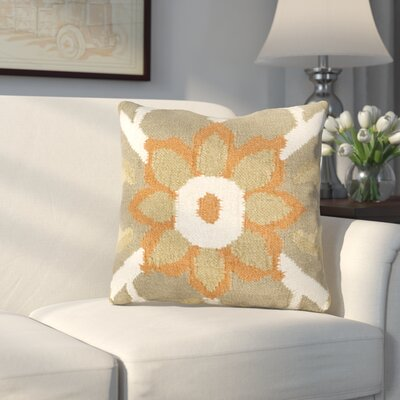 Sennett Throw Pillow Size: 22 H x 22 W x 4 D, Filler: Down