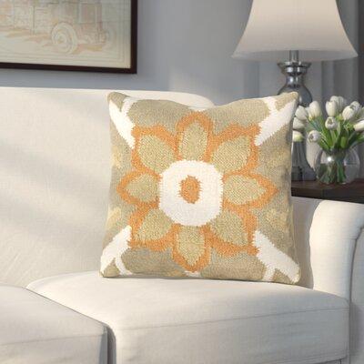 Sennett Throw Pillow Size: 22 H x 22 W x 4 D, Filler: Polyester