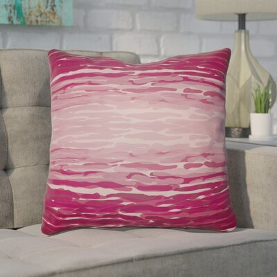 Konnor Iii Throw Pillow Size: 18 H x 18 W x 4 D, Color: Red