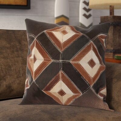 Arcata Throw Pillow Color: Brown
