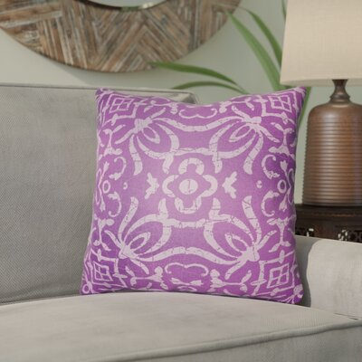 Libchava Indoor Throw Pillow Size: 20 H x 20 W x 4 D, Color: Magenta