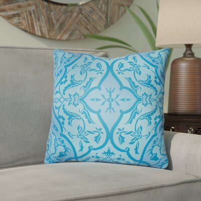 Libchava Floral Throw Pillow Size: 22 H x 22 W x 5 D, Color: Blue