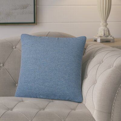 Arnold Solid Indoor/Outdoor Throw Pillow Size: 18 H x 18 W x 6 D