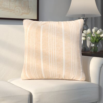 Aqueduct Throw Pillow Size: 16 H x 16 W x 6 D, Color: Mocha
