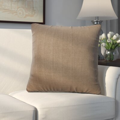 Frye Throw Pillow Size: 20 H x 20 W, Color: Chocolate